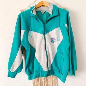 Vintage Not Your Grandma's Retro Jacket